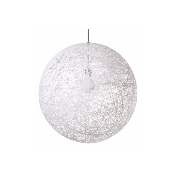 moooi suspension design random light blanche 50 cm. Black Bedroom Furniture Sets. Home Design Ideas