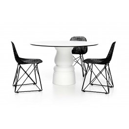 Table ronde Container New antique - Ø 120cm - Moooi