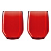Verre Vertical Party Beach - rouge - Lot de 2- Italesse