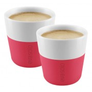 Set de 2 Tasses à expresso rose/rouge flashy - 80 ml - Eva Solo