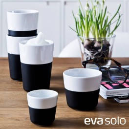 Set de 2 Tasses à expresso - noir carbone - 80 ml- Eva Solo