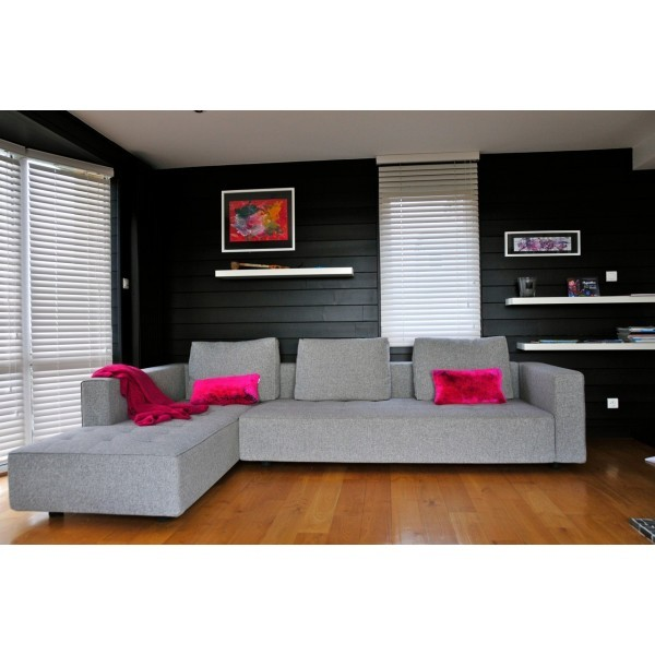 canap design kilt avec m ridienne gris chin de zanotta. Black Bedroom Furniture Sets. Home Design Ideas
