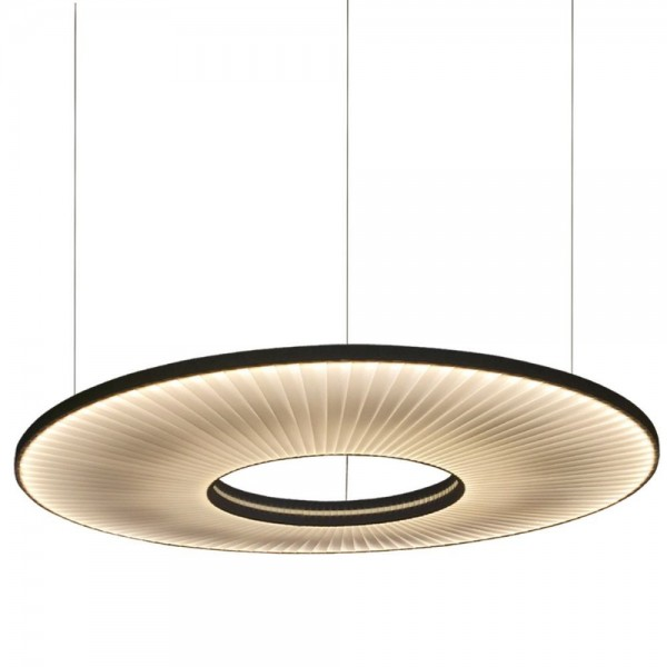 suspension led cercle et ruban iris de dix heures dix. Black Bedroom Furniture Sets. Home Design Ideas