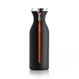 Carafe Stoppe-goutte 1,4 L / Fourreau isolant noir-orange - Eva solo