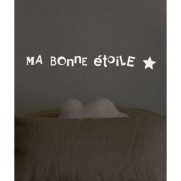 Sticker ma bonne étoile - Phosphorescent - Lilipinso