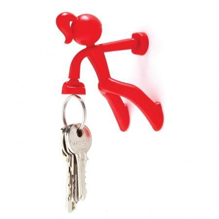 Porte clés - Key Petite - rouge - PA DESIGN