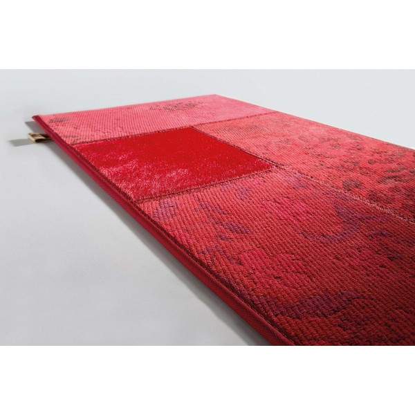 Tapis design gipsy rouge patchwork de limited edition - Tapis limited edition prix ...