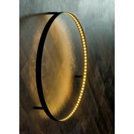 Applique Curve à Led - Noir - Ø 60 cm - Le Deun Luminaires