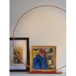 Lampe Micro à Led - Rouge- Ø 60 cm - Le Deun Luminaires