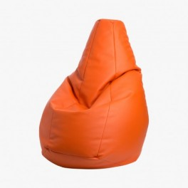Pouf Sacco similicuir Volo - Orange - Zanotta