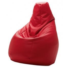 Pouf Sacco similicuir Volo - Rouge - Zanotta