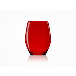 Verre Vertical Party - rouge - Lot de 4 - Italesse
