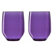 Verre Vertical Party Beach - violet - Lot de 2- Italesse