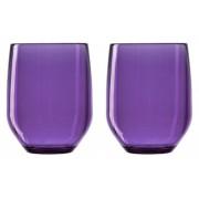 Verre Vertical Party Beach - violet - Lot de 2- Italesse