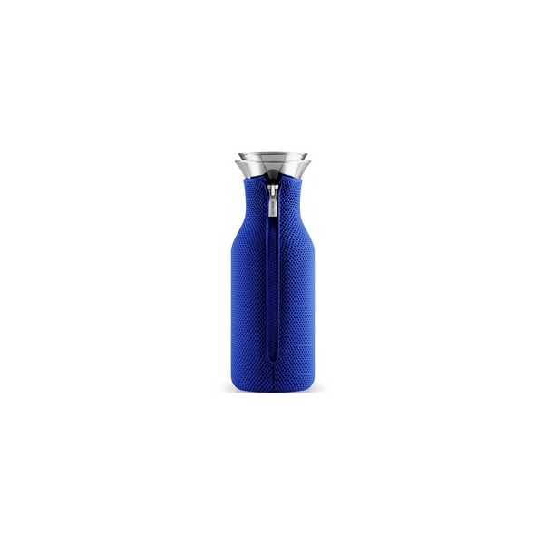 eva solo carafe eau stoppe goutte fourreau isolant bleu. Black Bedroom Furniture Sets. Home Design Ideas