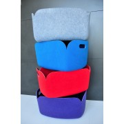 Panier de rangement Restore en feutre 100% recyclé - Bleu - Muuto