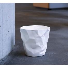 Corbeille Bin Bin H 31 x Ø 33 cm - blanc - Essey
