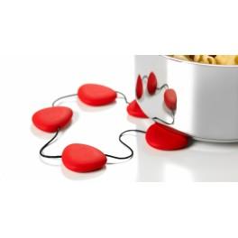 Dessous de plat Hot - rouge - Lib Editeur