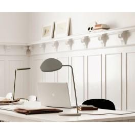 Lampe de table Leaf - Led avec variateur - gris - Muuto