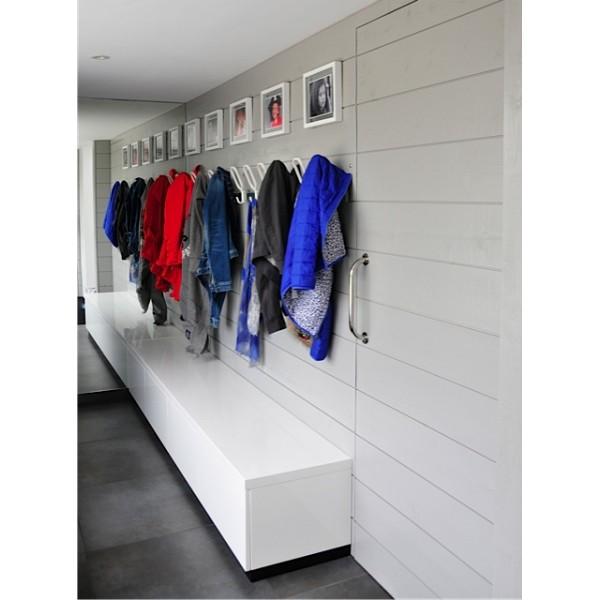 porte manteaux mural design birds on a wire blanc magis. Black Bedroom Furniture Sets. Home Design Ideas