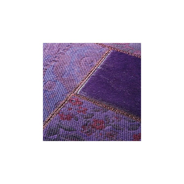 Tapis gipsy violet patchwork 200x300 de limited edition - Tapis limited edition prix ...