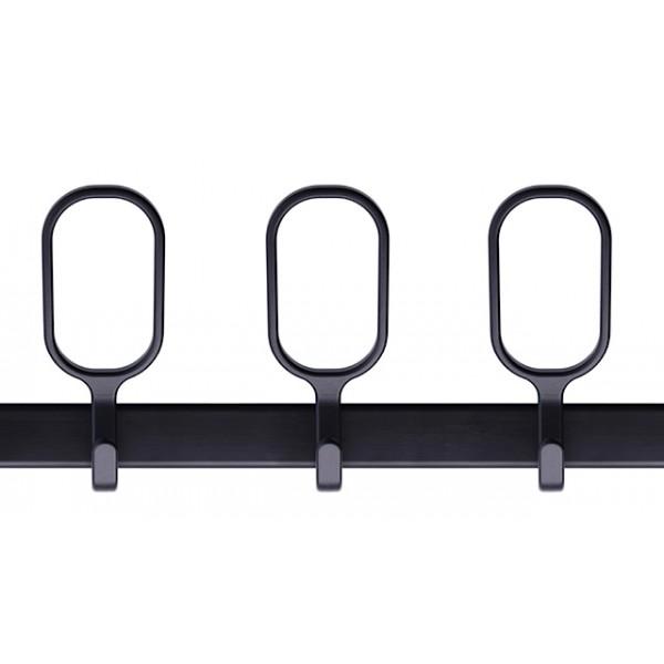 porte manteau mural design birds on a wire noir magis. Black Bedroom Furniture Sets. Home Design Ideas