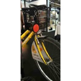 Panier sac à main luxe N°4 avec fixation guidon de vélo  - Matlama