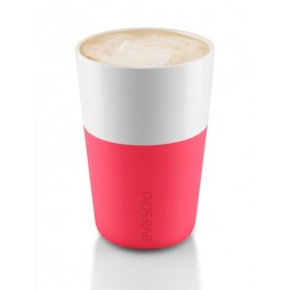 Mugs Café Latte /Set de 2 - 360 ml -rouge flashy-  Eva Solo