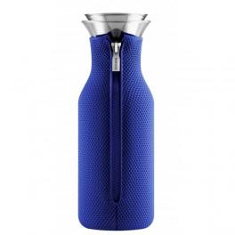 Carafe Stoppe-goutte 1  L / Fourreau isolant Bleu électrique- Eva solo