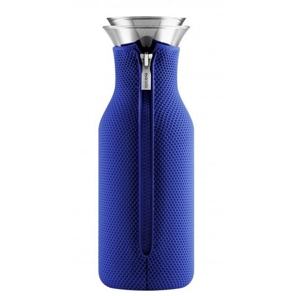 Eva solo carafe eau stoppe goutte fourreau isolant bleu for Cuisine bleu electrique