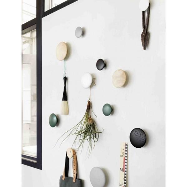 Souvent Patère design en bois de chêne, the dots Muuto, lot de 5 ZL14