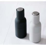 Moulin bottle set sel & poivre - gris clair et gris anthracite- Menu