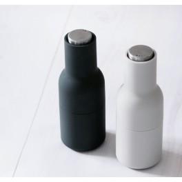 Moulin bottle set sel & poivre - gris clair et gris anthracite- Menu