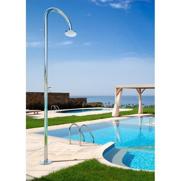 Douche de piscine design inox origo c50 as de fontealta for Piscine de douche bebe