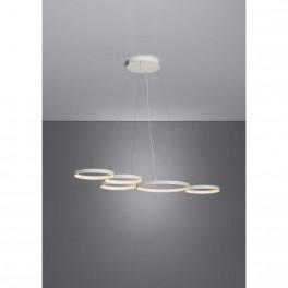 Suspension Super8 / LED - 100 x 50 cm - blanc - Le Deun