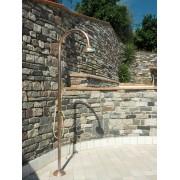 Douche extérieure en cuivre - Origo C50 R extra - Fontealta