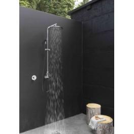 Douche extérieure inox - Waterline - W61 E- Fontealta
