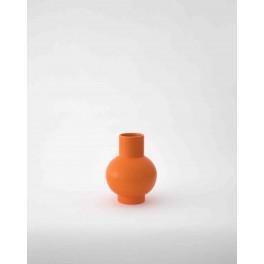 Vase Strøm orange small de Raawii