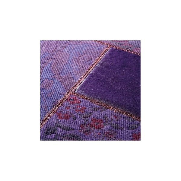 tapis gipsy violet patchwork 170x230 de limited edition. Black Bedroom Furniture Sets. Home Design Ideas