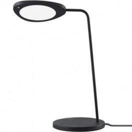 Lampe de table Leaf - Led avec variateur - noir - Muuto