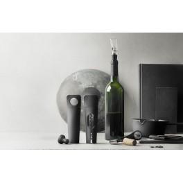 Coffret Blade Set 3 pièces : Tire-bouchon, Bouchon-décanteur & Pompe à vide - Menu