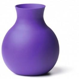 Vase souple - violet - H 20 cm - Menu