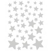 Stickers muraux étoiles argentées - Lilipinso