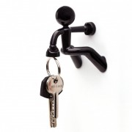 Porte clés - Key Peter - noir - PA DESIGN